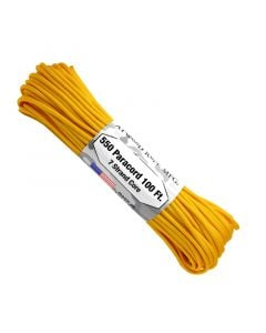 550 Paracord 100ft 7 Strand Core - Yellow