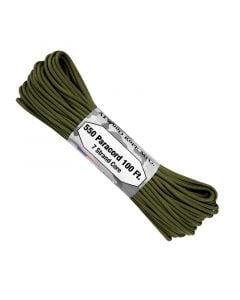 550 Paracord 100ft 7 Strand Core - Olive Drab