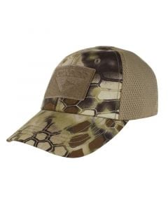 Condor Mesh Tactical Cap w/Hook & Loop Panels